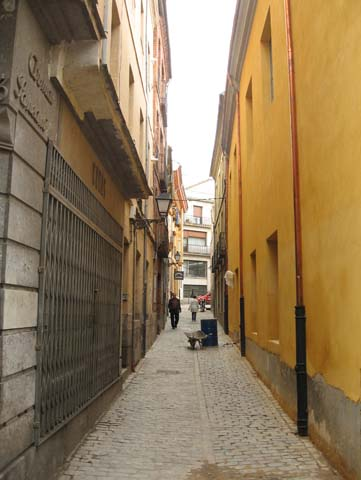 Avilai utcák