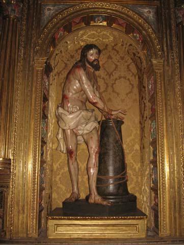 Jézus szobor, La Santa