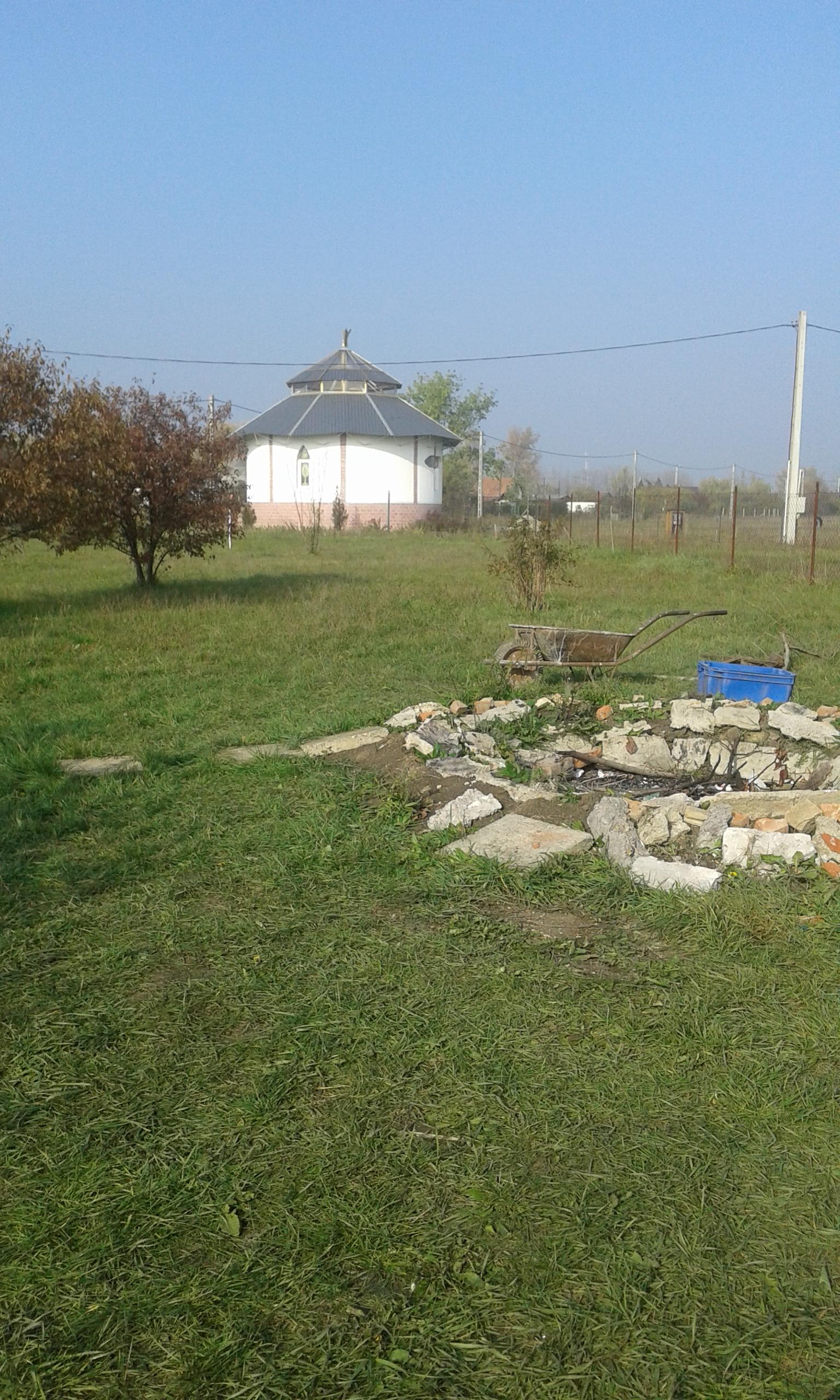 Szent Teréz temploma - a mezőn